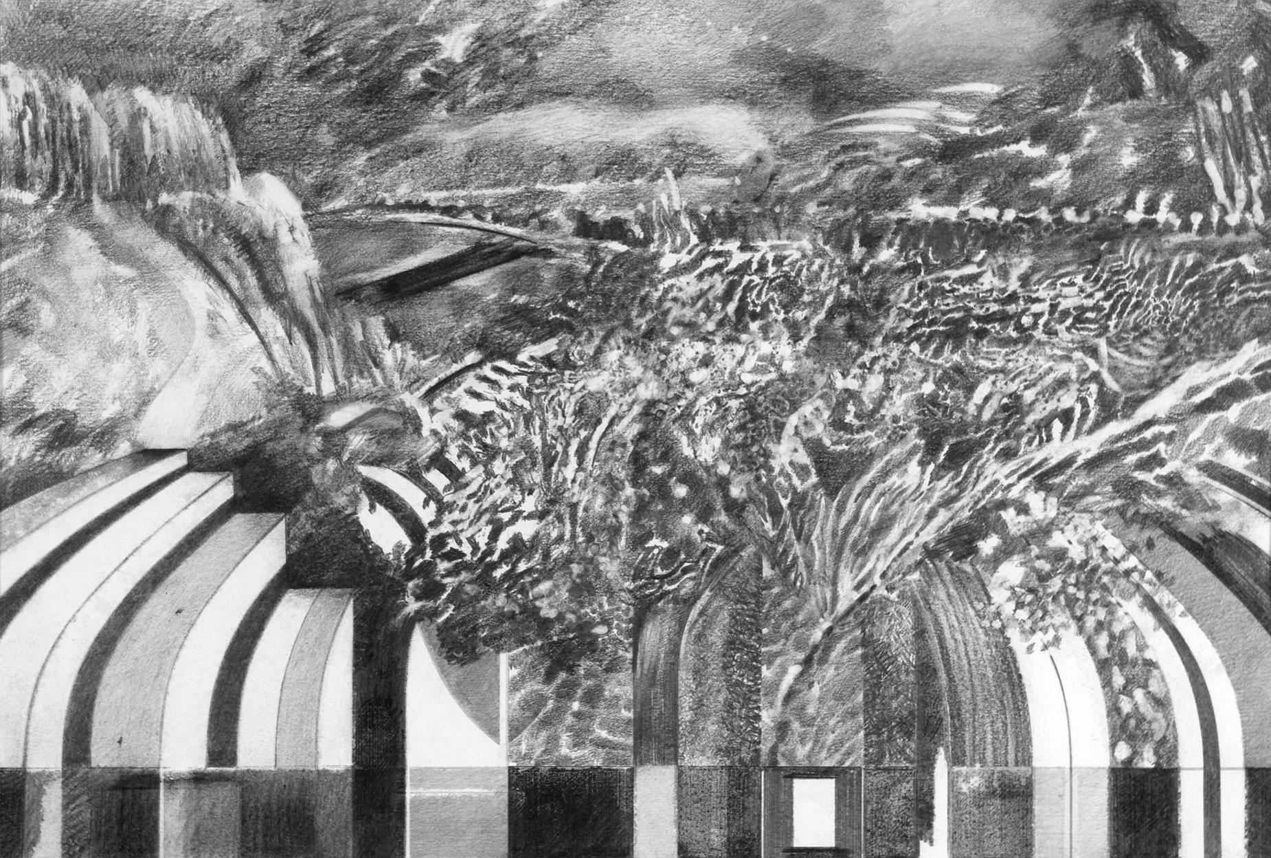 String Theory - Keyboard - Richard Jacobi Drawings - The Mythologies