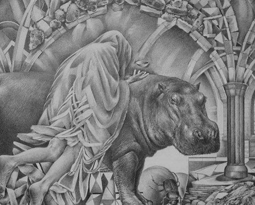 Offering at 1.618 - Richard Jacobi Drawings - The Mythologies