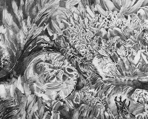 Source - Drawing by Richard Jacobi - The Mythologies